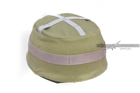 FJ m38 Green Helmet Cover (hook-on)