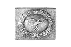 luftwaffe aluminum buckle with 2nd pattern eagle