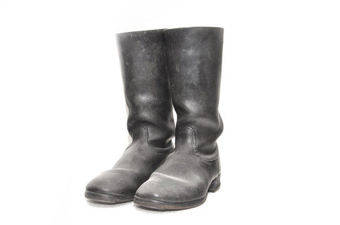 German Wehrmacht Black Marching Boots for Other Ranks