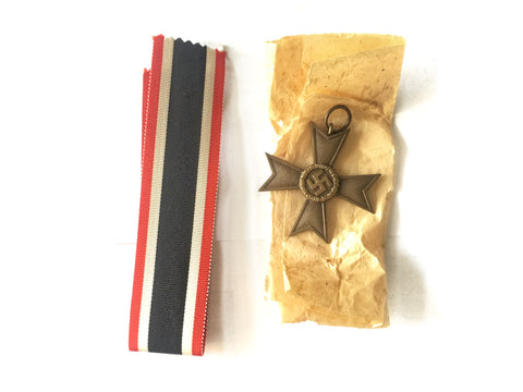 KVK 2nd Class War Merit Cross and ribbon