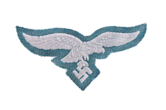 Grunmeliert breast eagles for Luftwaffe Jump Smock