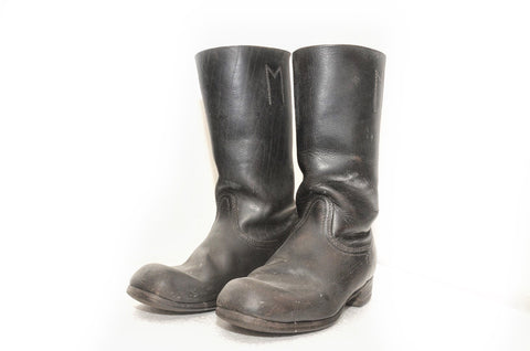 Wehrmacht Black Marching Boots for Other ranks