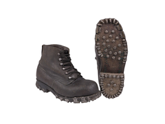 Swiss Mountain boots with studs
