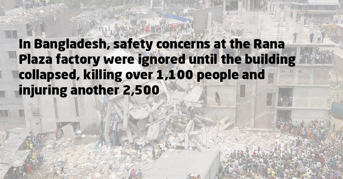 Rana Plaza collapse in Bangladesh