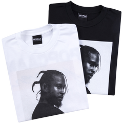 Popcaan Forever Cover Tee - Black