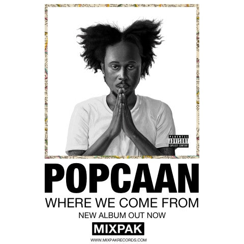 Popcaan Where We Come From Poster
