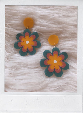 Candy Daisy Earrings