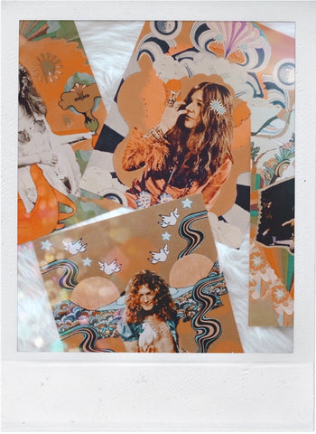 Groovy Collage Prints