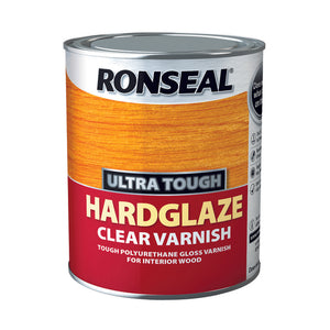 Ronseal Ultra Tough Varnish 750ml Hardglaze