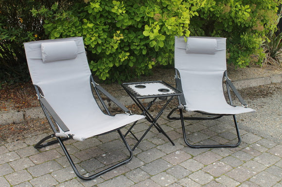 2 Piece Chair/Table Set