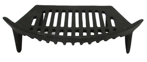 Cast Iron Fire Grate 14""