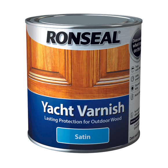 Ronseal Yacht Varnish 1L Satin