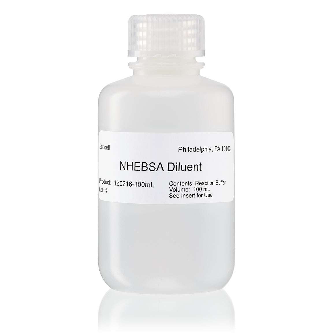 NHE-BSA Diluent            100 mL