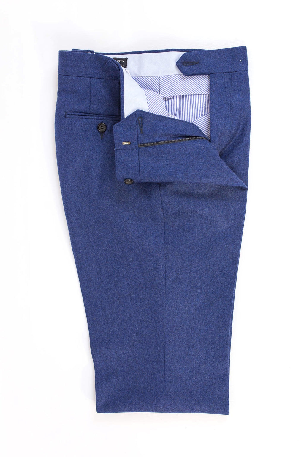 READ WALL Trouser - Indigo Flannel