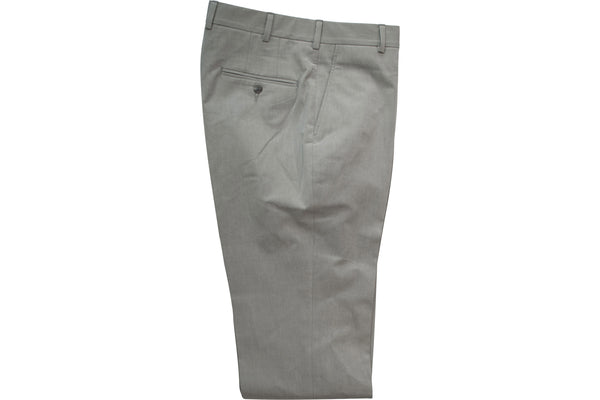 READ WALL Trouser - Gull Grey Twill