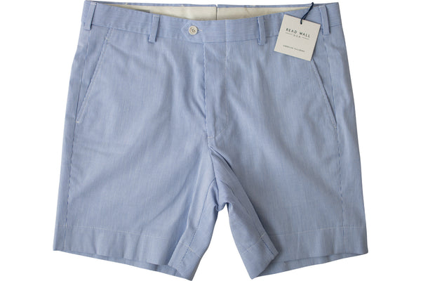 READ WALL Club Short - Blue Pincord