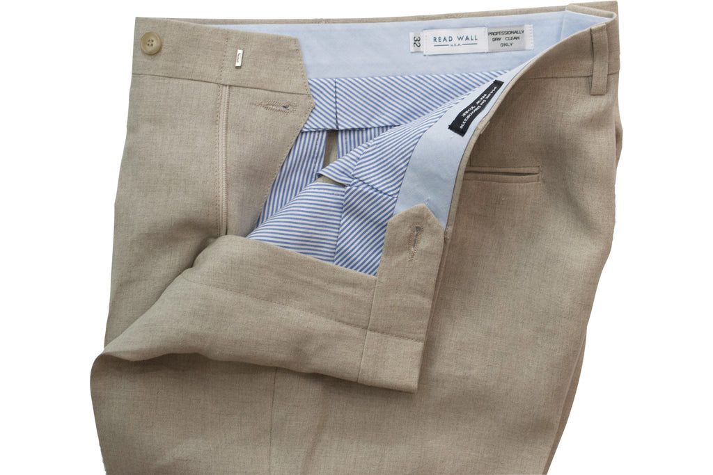 READ WALL Trouser - Flax Linen