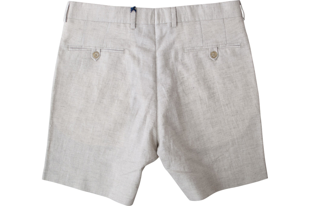 READ WALL Club Short - Flax Linen