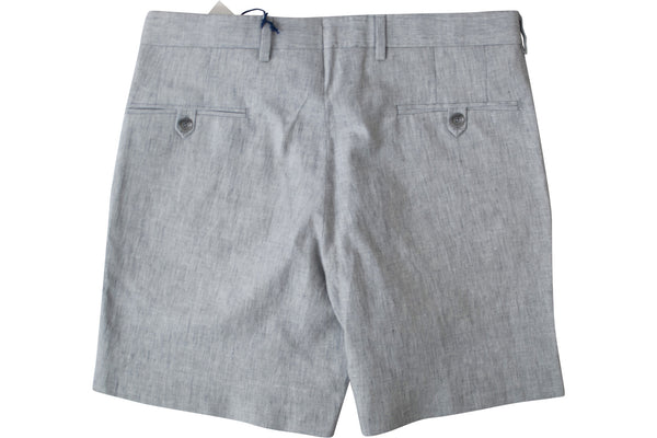 READ WALL Club Short - Grey Cotton/Linen