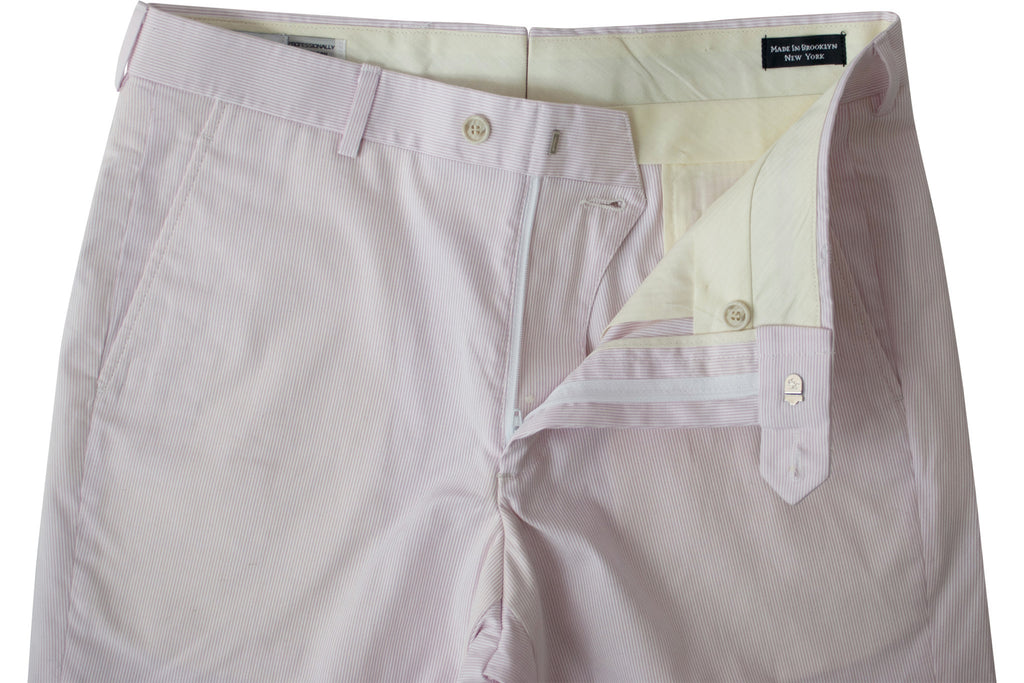 READ WALL Club Short - Pink Pincord