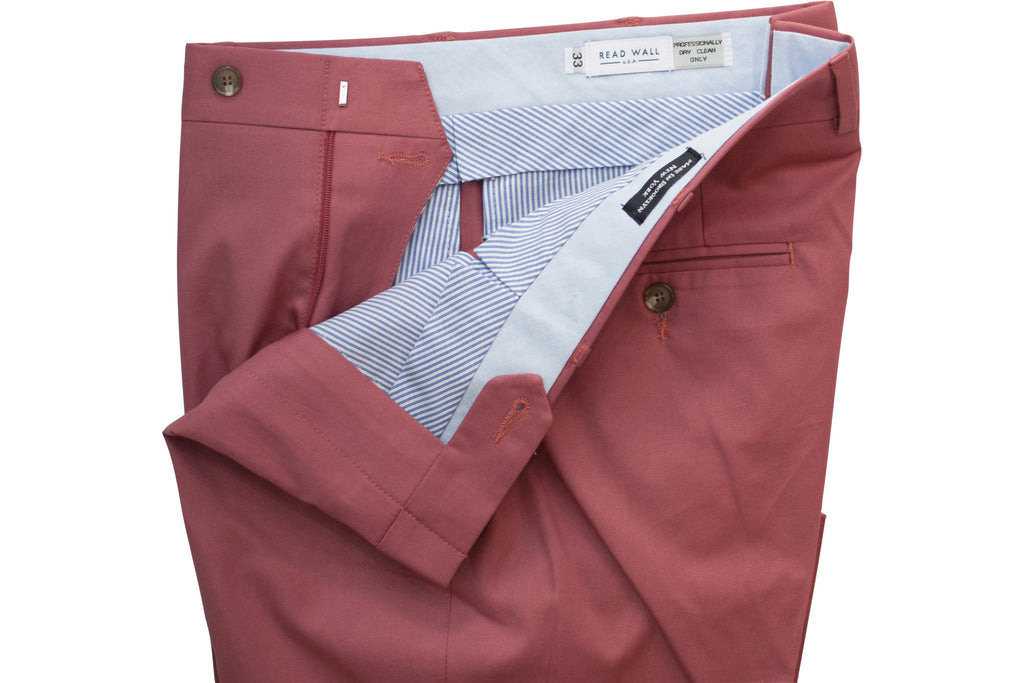 READ WALL Trouser - Punch Red Khyber