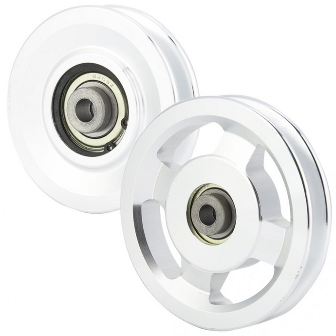 Aluminium Alloy Fitness Pulley Light weight Strength