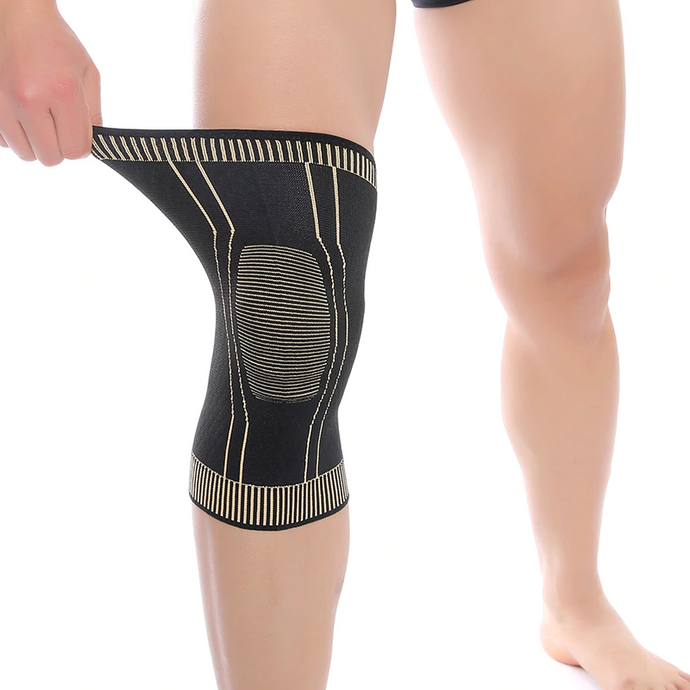 process copper ions knee pad