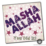MAS003 MaSha 'Allah You Did It Pink