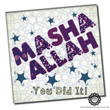 MAS004 MaSha 'Allah You Did It Blue