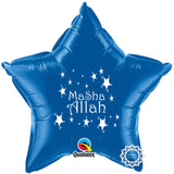MASBLUE MaSha Allah Foil Balloon Blue