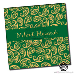 MEH002 Mehndi Mubarak Green Yellow