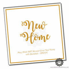 NWH002 New Home Foil