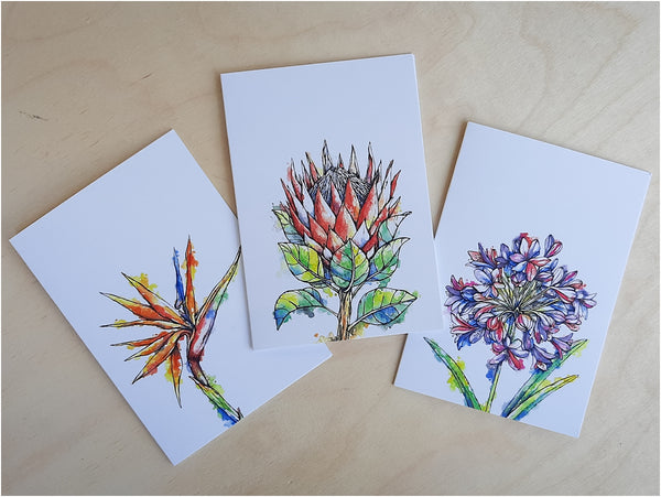south african flowers gift cards