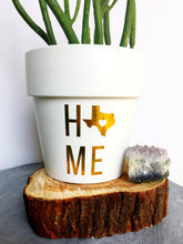 Load image into Gallery viewer, HOME State Pride Pot - State Pride - State Gift - Going Away Gift - Moving Gift - Cute Flower Pot - Housewarming Gift - Knox Pots - Knox Pot