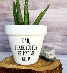 Dad Thank You For Helping Me Grow