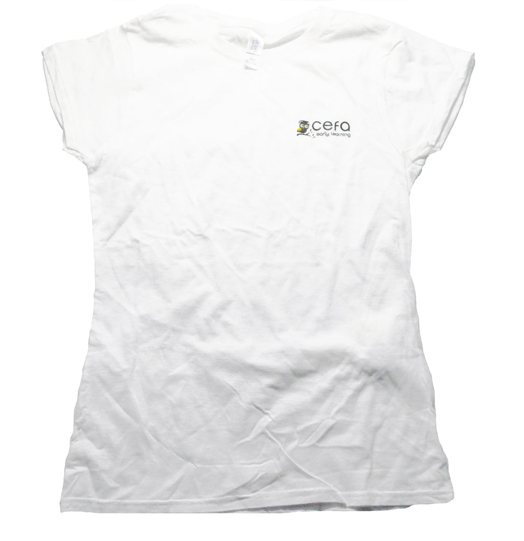 Ladies CEFA  Short Sleeve T-Shirt