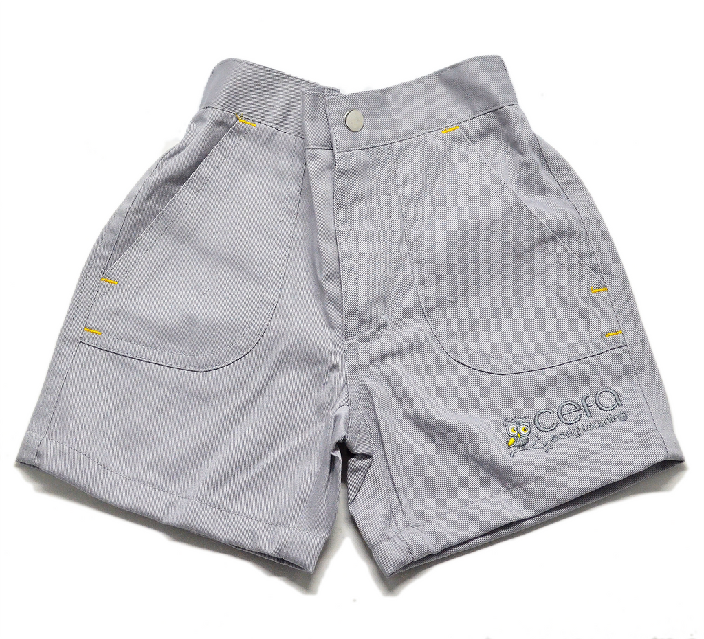 Cotton Shorts - Owl Logo