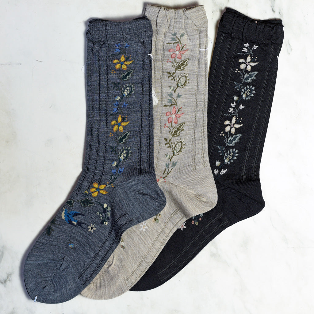 "Antipast ""Flower"" Socks"