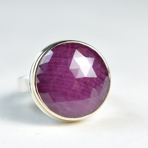 Jamie Joseph Indian Ruby Ring