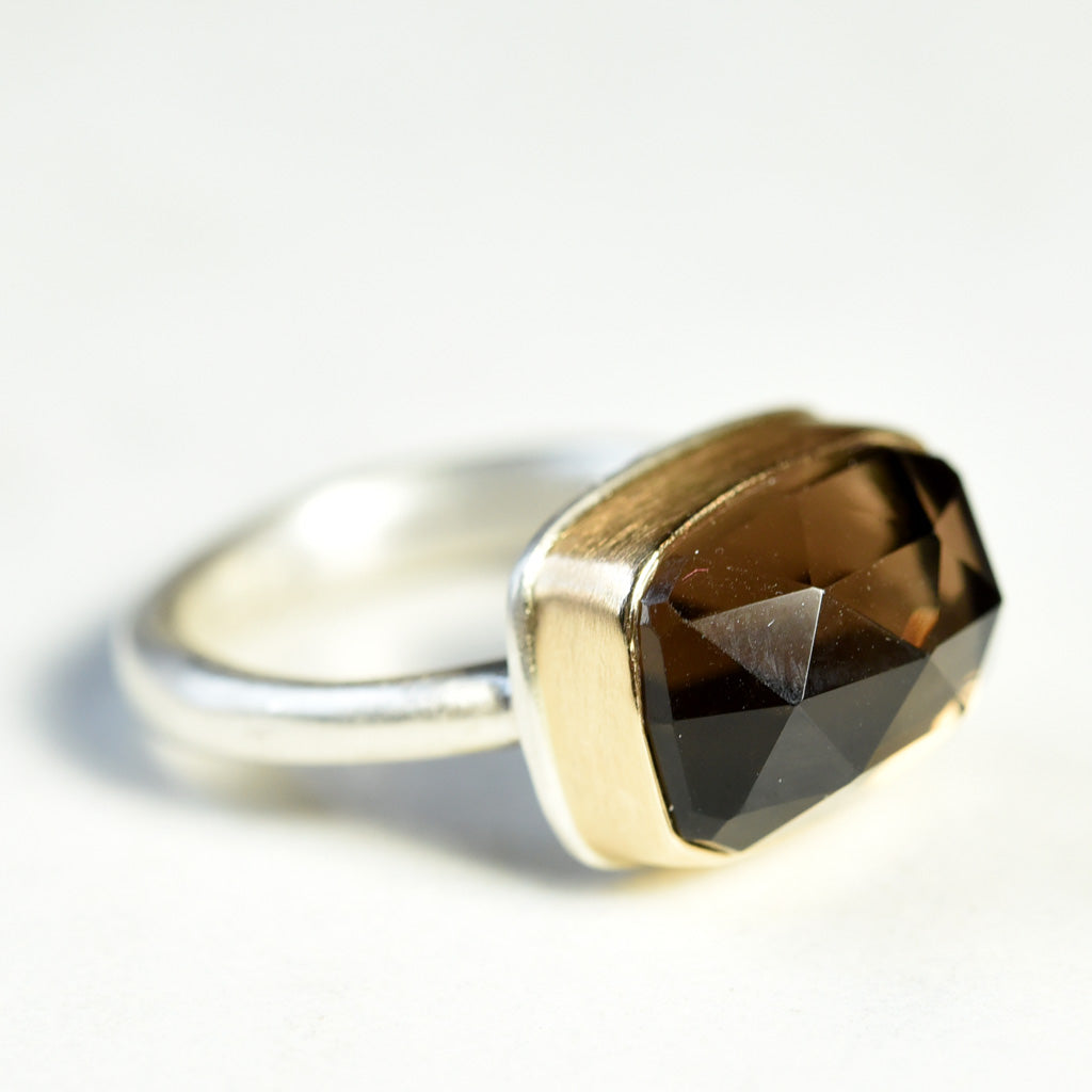 Jamie Joseph Petite Smokey Quartz Ring