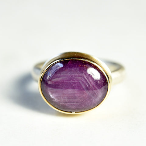 Jamie Joseph Star Ruby Ring