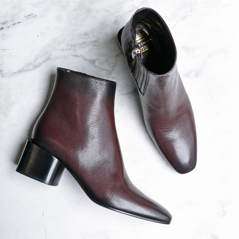 "Officine Creative ""Godard Tone on Tone Boot"" (Sienna/wine)"