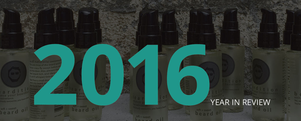 2016: Beardition's Year in Review