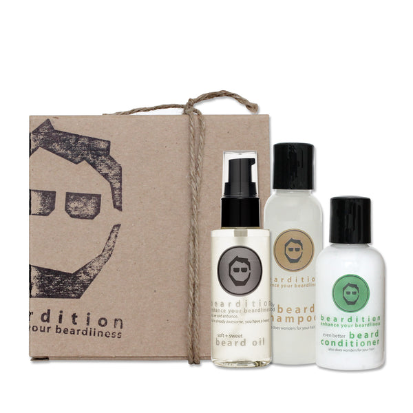 Beardition Ultra Bearded Travel Set