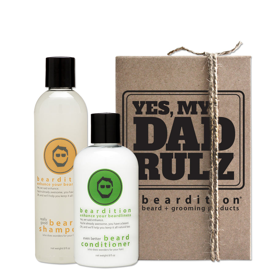 Father's Day beard set