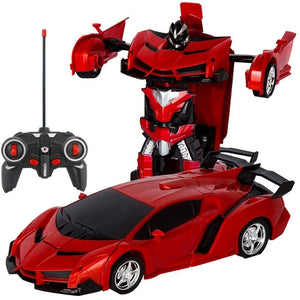 RC Transformable Car Robot Gesture Sensing Car with Realistic Engine Sound