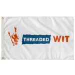 Threaded Wit Logo Flag