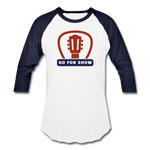 Go For Show - Baseball T-Shirt - white/navy