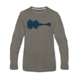 Cedar Grove - Long Sleeve T-Shirt - asphalt gray
