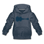 Cedar Grove - Kids' Hoodie - heather denim